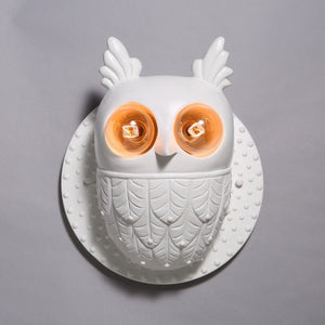 Nordic Style Owl Wall Light