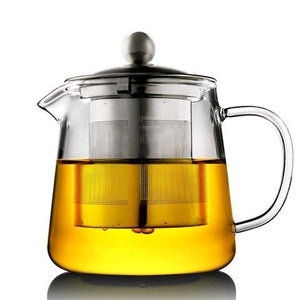 Modern Glass Tea Pot (950ml)