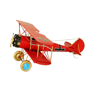 Hand Made Decorative Vintage Toy Plane