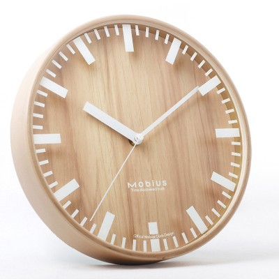 Modern Wood Wall Clock - Staunton and Henry