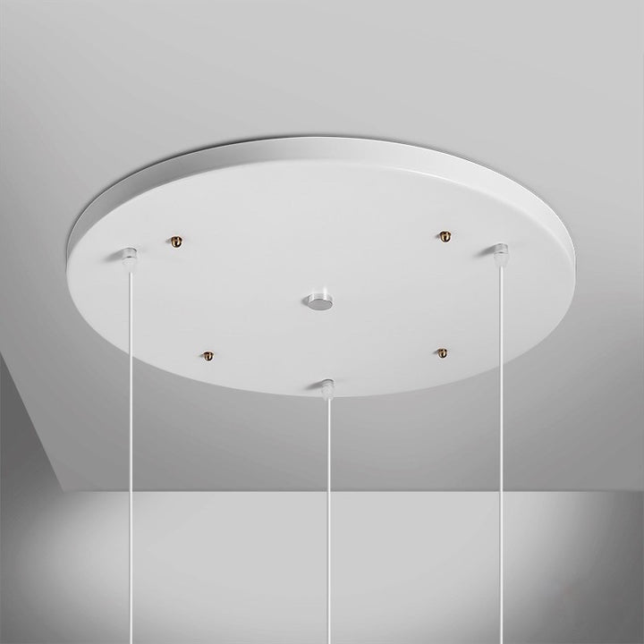 White Multi Ceiling Light Mount Cover - Staunton and Henry