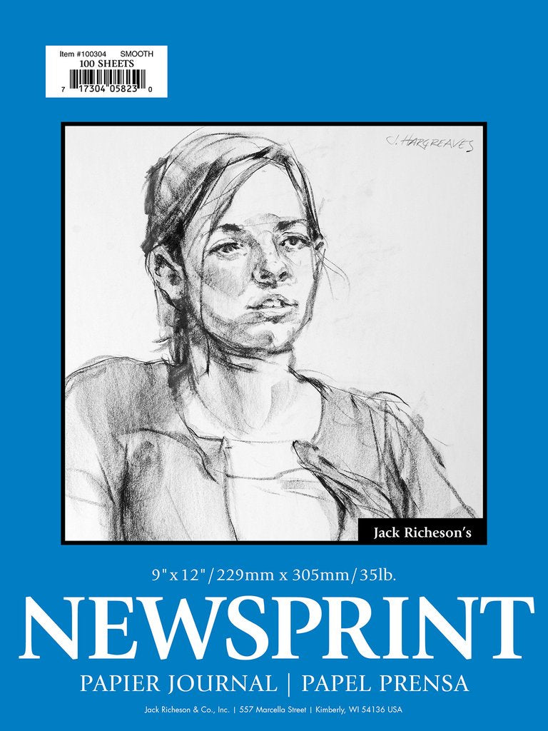 Jack Richeson - Newsprint Pad (4447385419863)