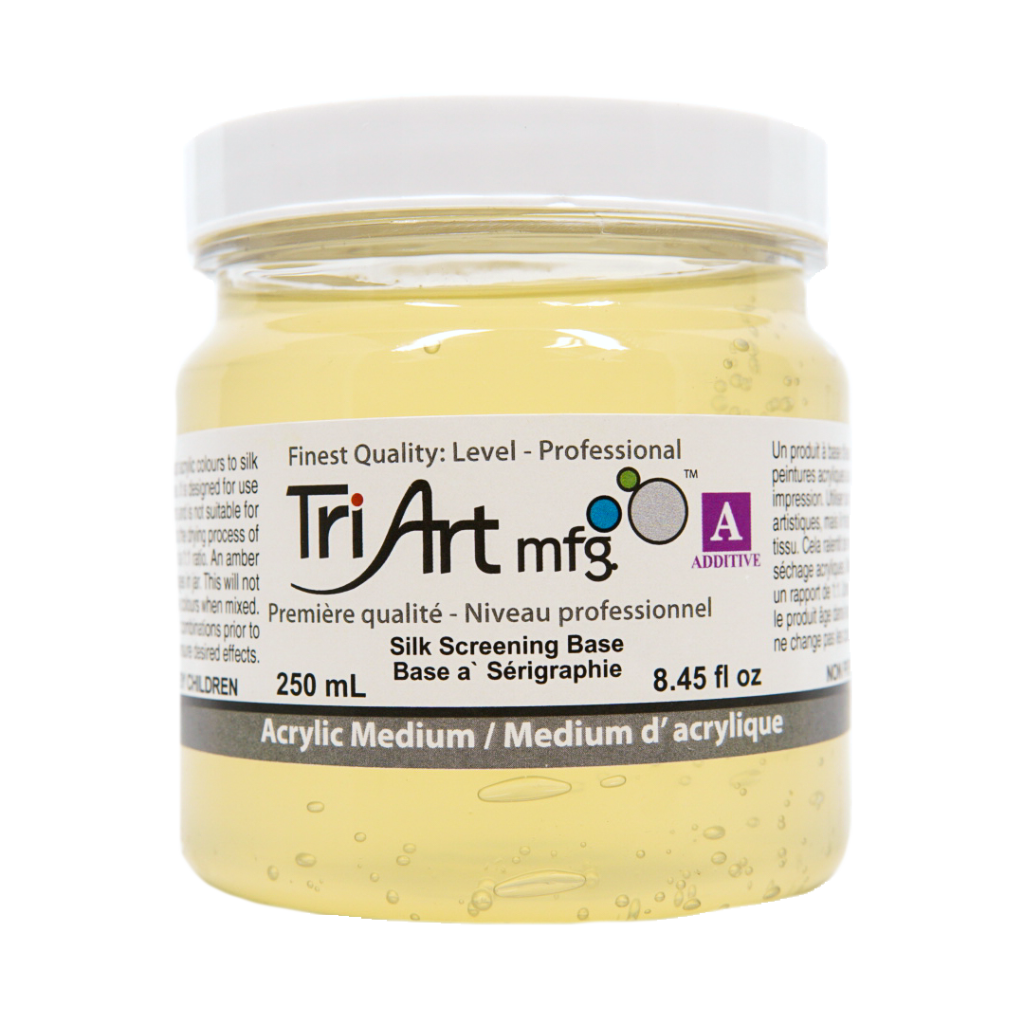 Tri-Art Mediums - Silk Screening Base (4438798565463)