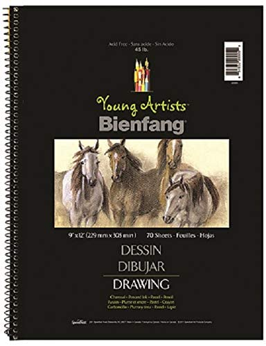 "Speedball - Young Artists Sketchbook (45 lb) White / 12""x9"" / 70 sheets (4548321706071)"