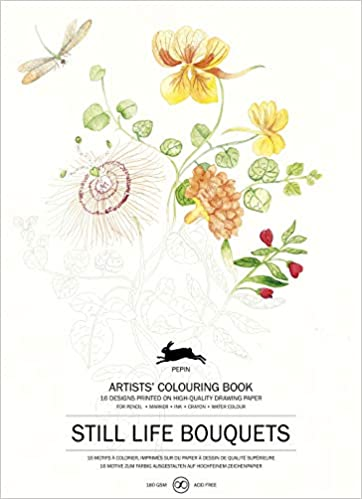 Pepin - Still Life Bouquets - 16 designs/pages per - 98048 (4441987252311)