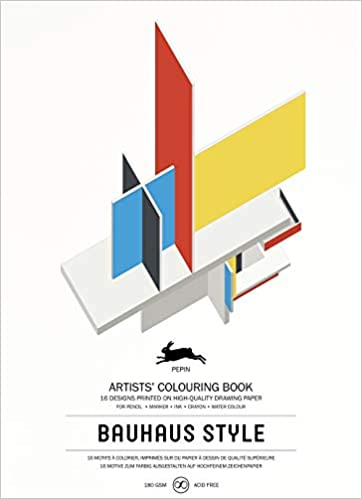 Pepin - Bauhaus Style - 16 designs/pages per book - 98116 (4441986760791)