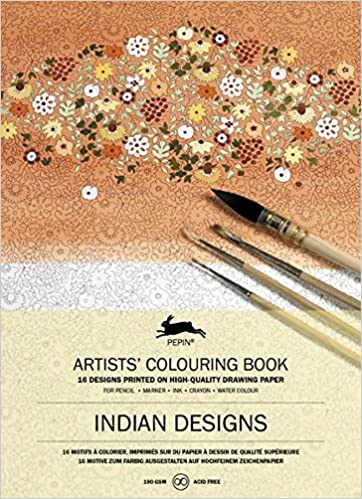 Pepin - Indian Designs - 16 designs/pages per book - 98161 (4441987022935)