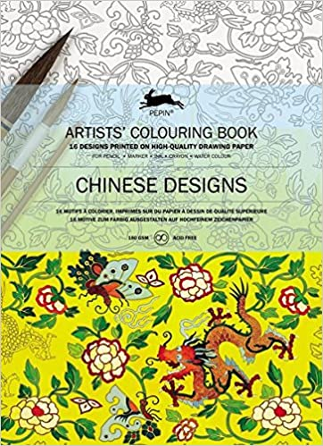 Pepin - Chinese Designs - 16 designs/pages per book - 98147 (4441986826327)