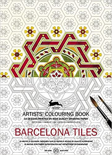 Pepin - Barcelona Tiles - 16 designs/pages per book - 98178 (4441986728023)