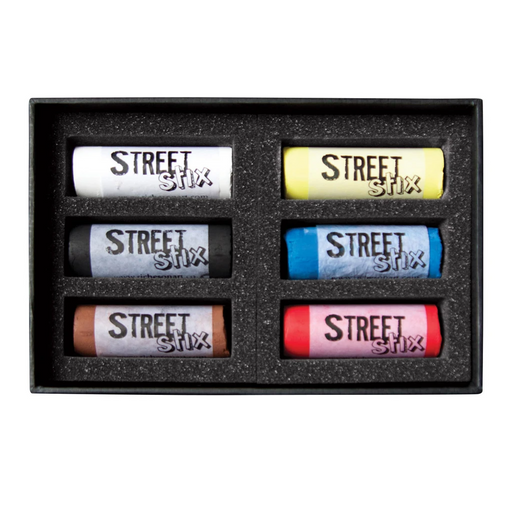 Jack Richeson - Street Stick - Pastel Set of 6 (4546989686871)