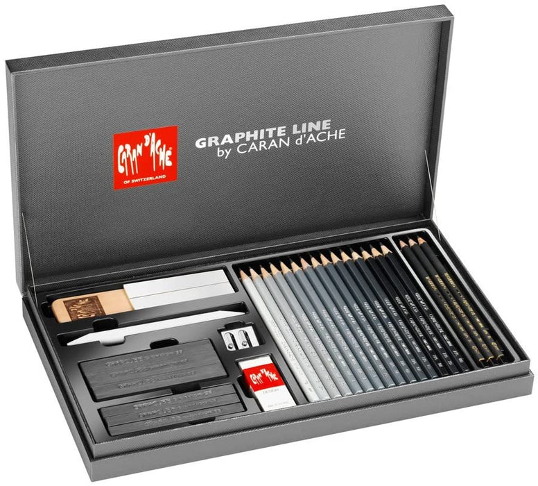 Caran d'Ache - Gift box Graphite Line, assorted - 3000.415