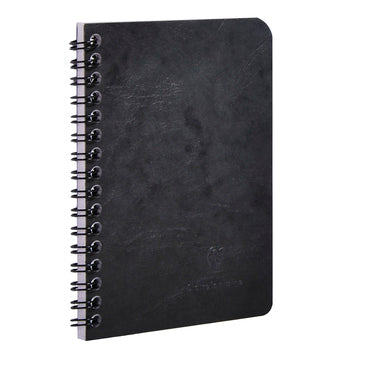 AGE-BAG NOTEBOOK LINED 100p 3¾x5½ BLACK (4673882226775)