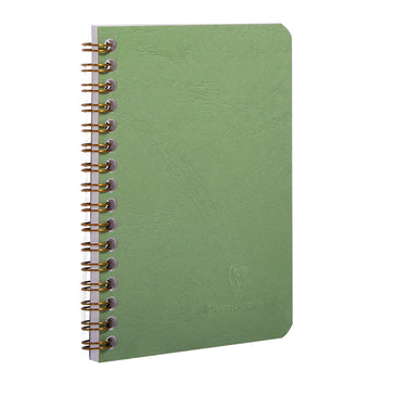 AGE-BAG NOTEBOOK LINED 160p 6¼x8¼ GREEN (4673883209815)