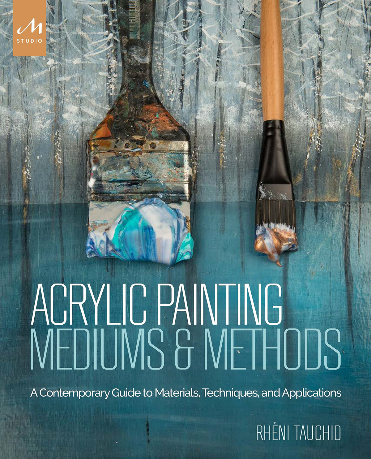 Acrylic Painting Mediums and Methods by Rheni Tauchid (4436800929879)