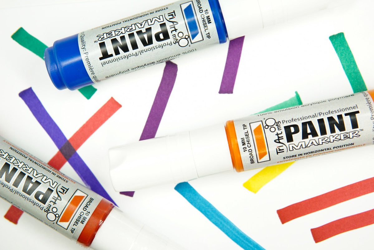 Tri-Art Finest Quality Marker - Arylide Yellow Deep (4446606622807)