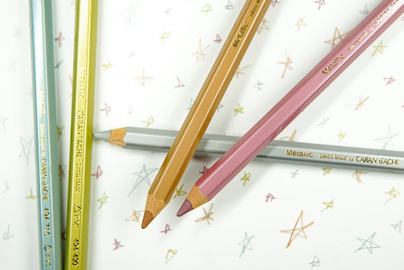 Caran d'Ache - Maxi Pencils - Assorted Colours