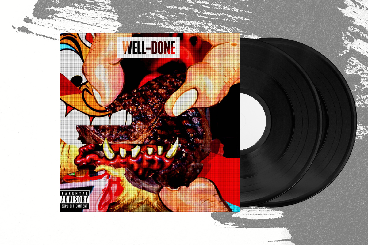 Action Bronson & Statik Selektah - Well Done 2xLP (4576181977175)