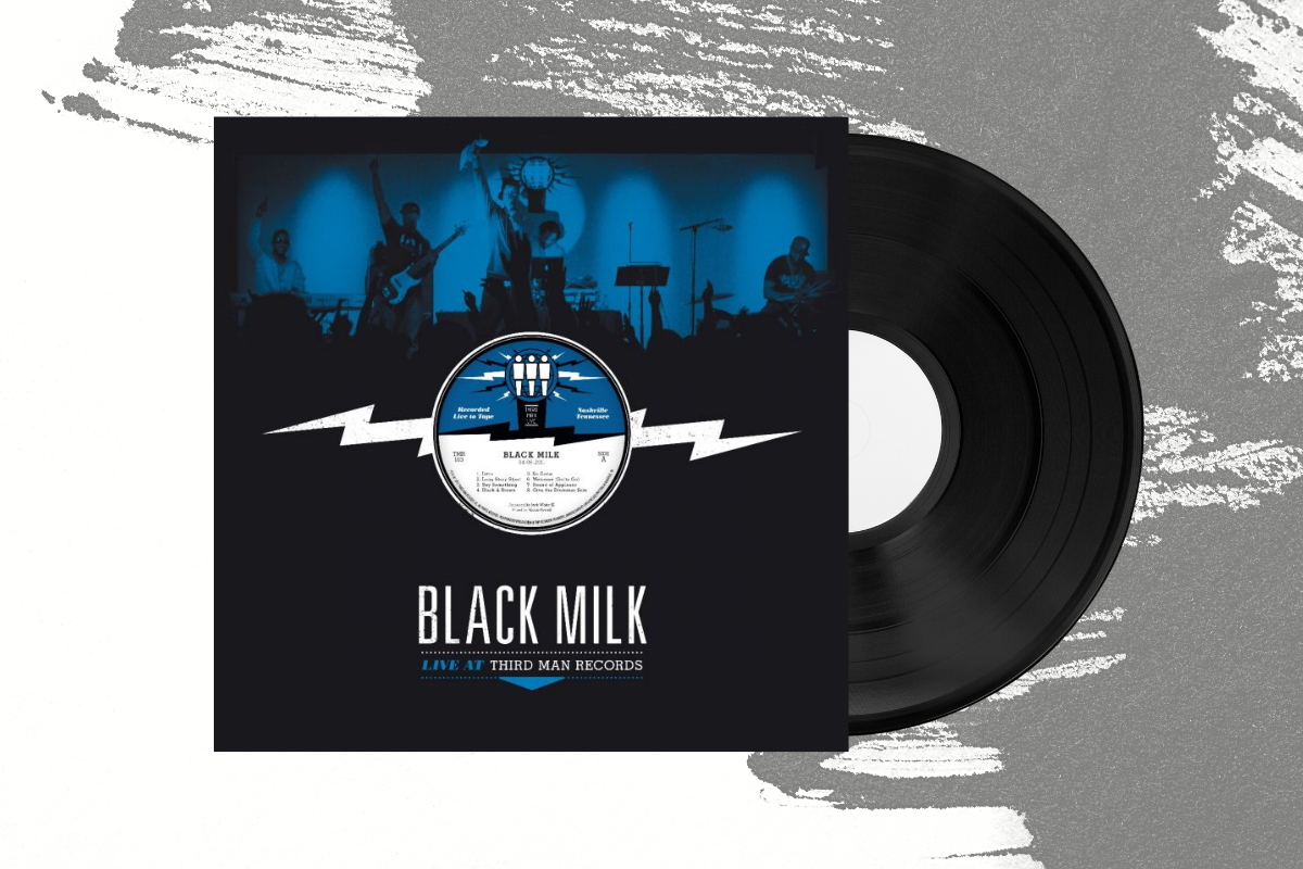 Black Milk - Third Man Live LP (4576184959063)