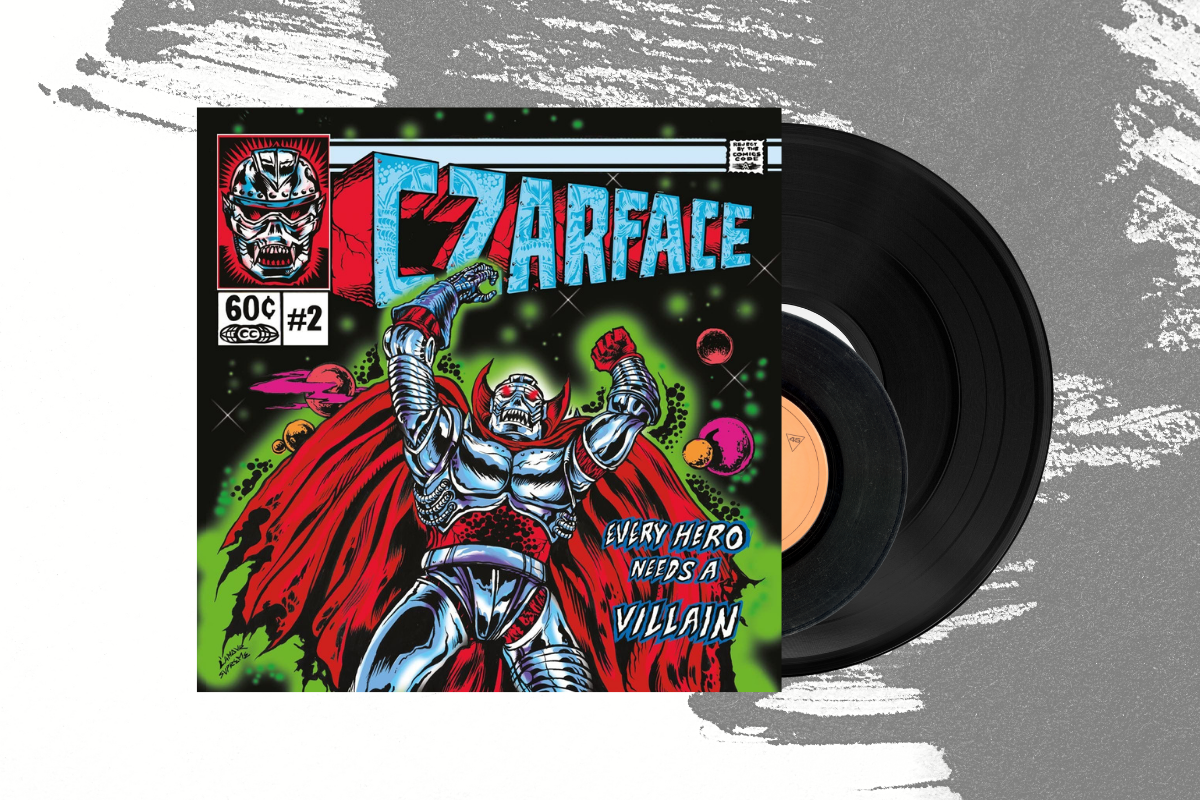 "Czarface - Every Hero Needs A Villain LP + 7"" (4576198754391)"