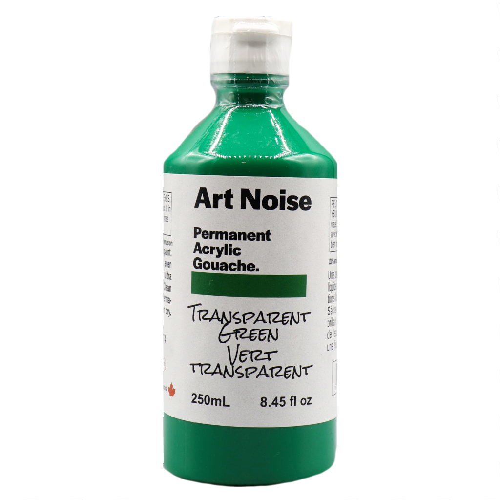 Art Noise - Transparent Green (4664329076823)