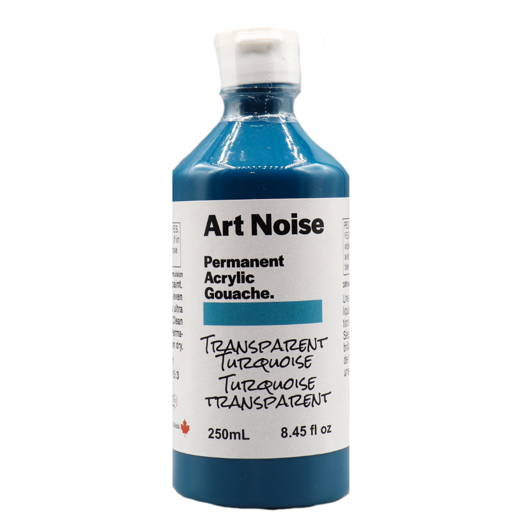 Art Noise - Transparent Turquoise (4664329240663)