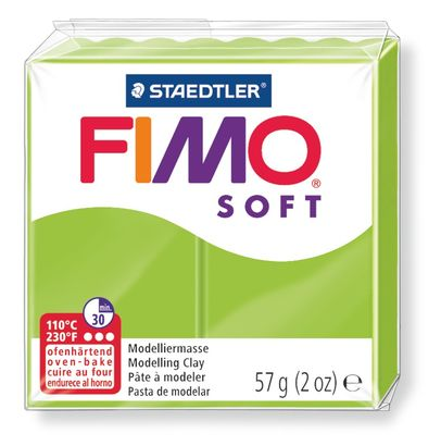 Staedtler-Mars - Modelling Clay Fimo Soft - Apple Green (4443466334295)