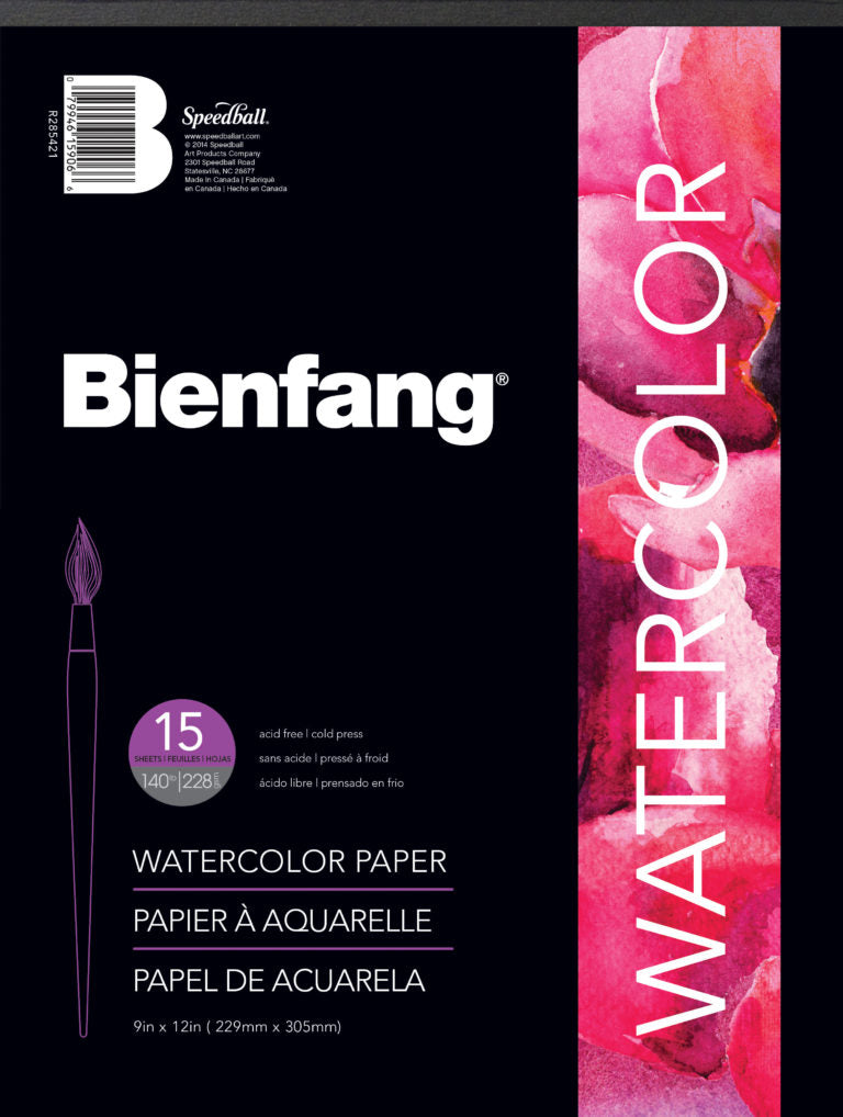 Bienfang Watercolour Pad - 140lb (4437368701015)