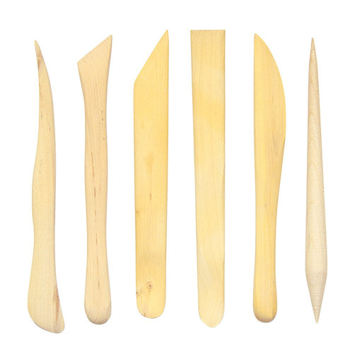 "Jack Richeson - 6"" Boxwood Tools - Set of 6 (4512634011735)"