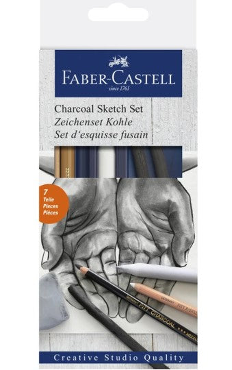 Faber-Castell - CHARCOAL SKETCH SET (4438862364759)