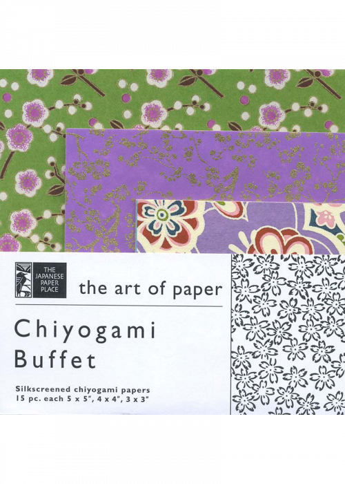 Japanese Paper - Chiyogami Buffet (4548010901591)