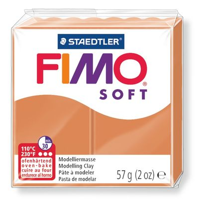 Staedtler-Mars - Modelling Clay Fimo Soft - Cognac (4443466563671)