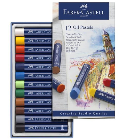 Faber-Castell - CREATIVE STUDIO OIL PASTELS (4438862463063)
