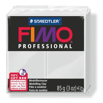 Staedtler-Mars - Modelling Clay Fimo Professional - Dolphin Grey (4443467612247)
