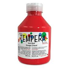 Primary Liquid Tempera - Hot Red (4457758064727)