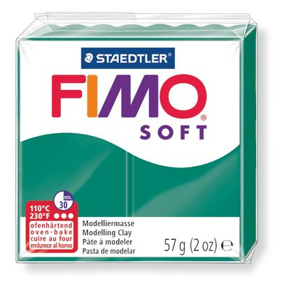 Staedtler-Mars - Modelling Clay Fimo Soft - Emerald (4443466629207)