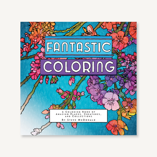 Chronicle Books - Fantastic Coloring (4636456714327)