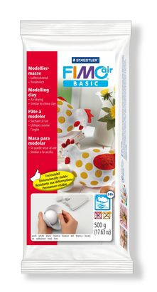 Staedtler-Mars - Modelling Clay FimoAir Basic 500g - White (4443467317335)