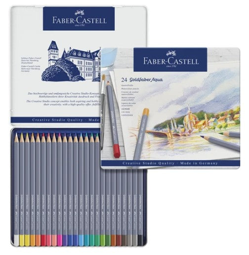 Faber-Castell - GOLDFABER WATERCOLOUR PENCIL TINS (4438869540951)