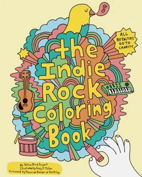 Chronicle Books - The Indie Rock Colouring Book (4636453929047)
