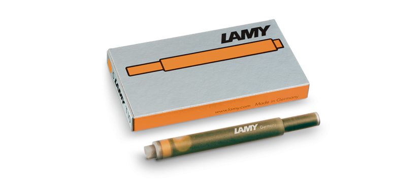 Lamy - Fountain Pen Ink Cartridges - Pack of 5 (4441993609303)