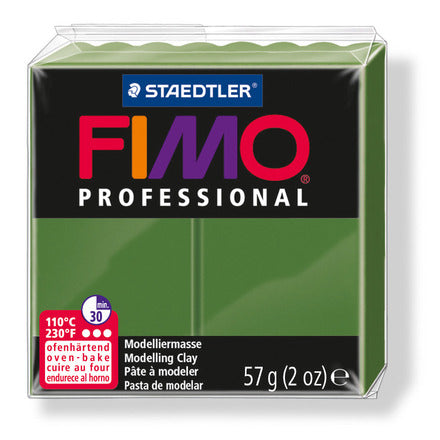 Staedtler-Mars - Modelling Clay Fimo Professional - Leaf green (4443467710551)