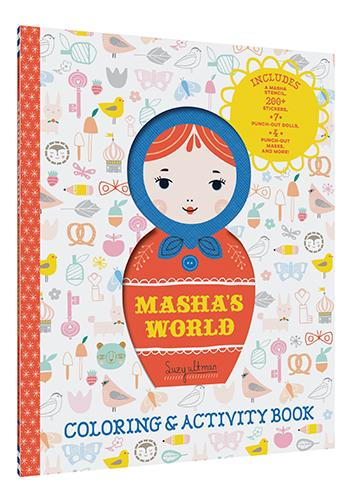 Chronicle Books - Masha's World: Coloring & Activity Book (4636979429463)
