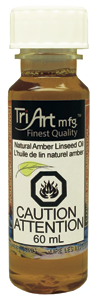 Tri-Art Oils - Natural Amber Linseed Oil (4438801678423)