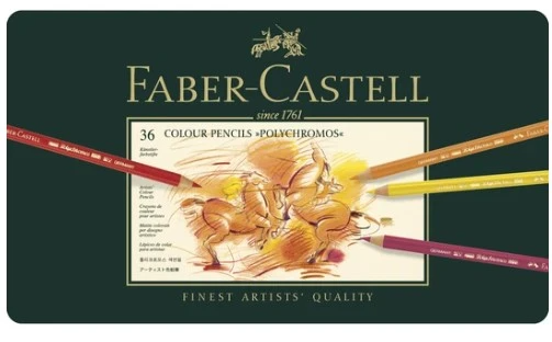 Faber-Castell - Polychromos Coloured Pencil - Tin Sets (4438877110359)