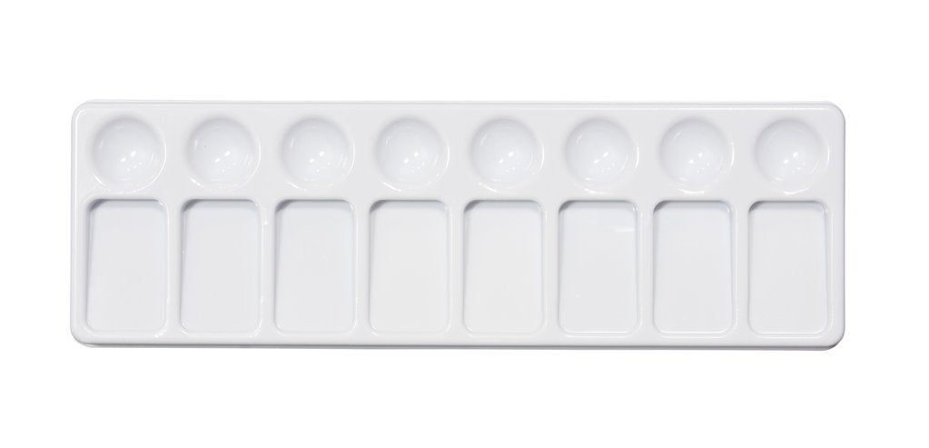 Jack Richeson - 5 Well Slant Tray Palette (4546974646359)