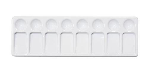 Jack Richeson - 8 Well Slant Tray Palette (4546977038423)