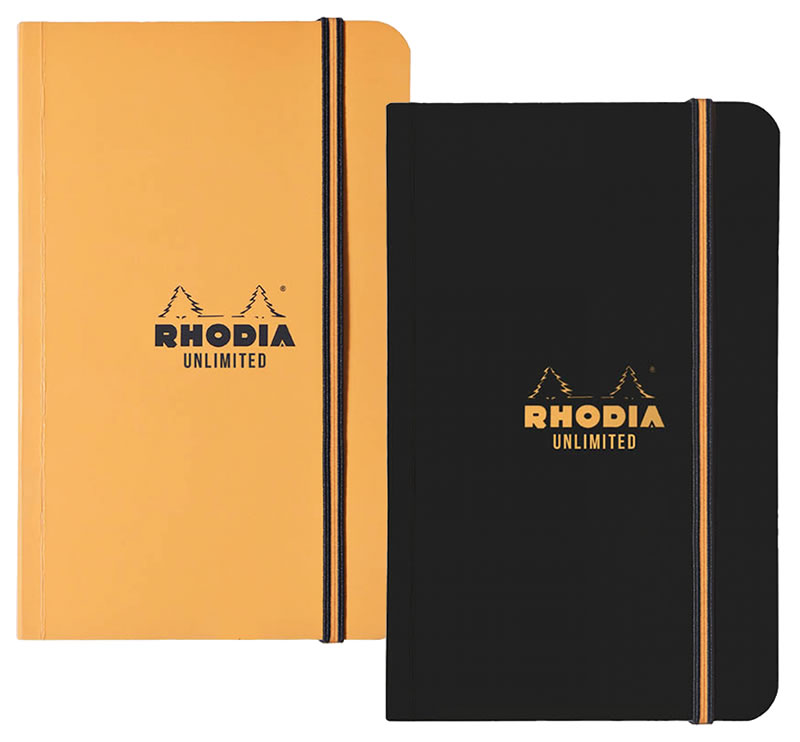 RHODIA UNLIMITED DISPLAY LINED 3.5x5.5 ASS. (4558840365143)