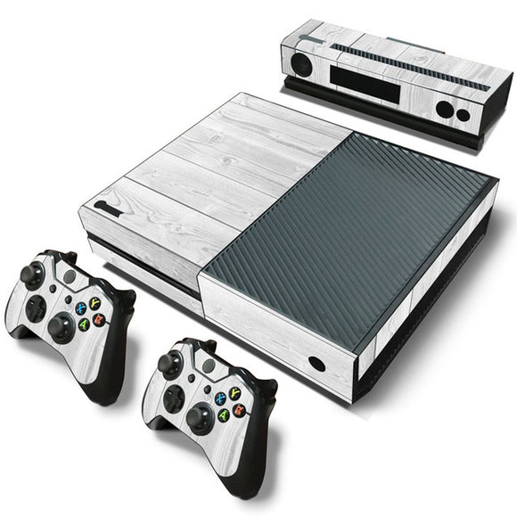 White Wood Skin for Xbox One
