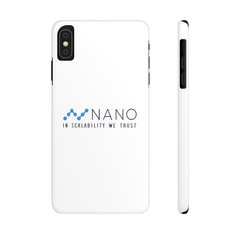 Nano, in scalability we trust - Case Mate Slim Phone Cases