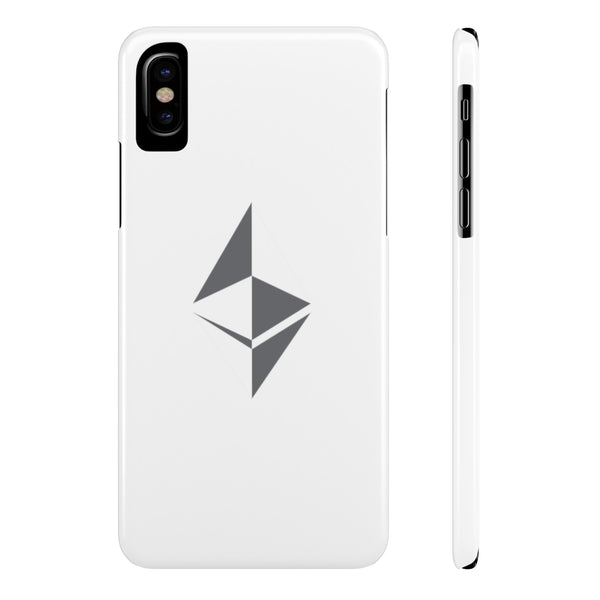 Ethereum surface design - Case Mate Slim Phone Cases